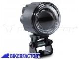BikerFactory Faretti moto LED EVO HIGH BEAM SW Motech colore nero con cablaggio completo e interruttore NSW.00.770.10100 1035947