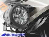 BikerFactory Faretti moto fari supplementari fendinebbia anabbaglianti a LED SW Motech HAWK LED FOG LIGHT corpo in alluminio con cablaggio completo. NSW.00.004.10500 B 1025010