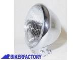 BikerFactory Faro supplementare fendinebbia rettangolare cromato Prodotto generico non specifico per questo modello di moto PW.00.222 026 1031109
