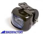 BikerFactory Faro supplementare fendinebbia rettangolare nero Prodotto generico non specifico per questo modello di moto PW.00.222 024 1031071