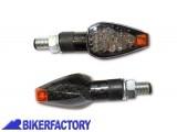 BikerFactory Frecce %28dx%2Bsx%29 a LED mod. PEAK %28stelo corto%29 lente fum%C3%A9 Prodotto generico non specifico per questo modello di moto 1027781