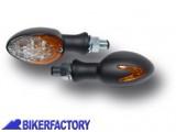 BikerFactory Mini Frecce %28indicatori di direzione%29 universali ovali Ermax a LED 1023419
