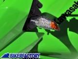 BikerFactory Mini Frecce %28indicatori di direzione%29 universali triangolari Ermax a LED art. ER00.9105NO038 ER00.9105NO038 1023457