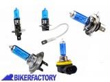 BikerFactory Lampada Alogena BLUE LIGHT auto moto mod. H1 H3 H4 H7 H11 1024771