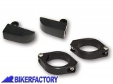 BikerFactory Coppia clamp %2B supporti universali per frecce filettatura M8 1031051