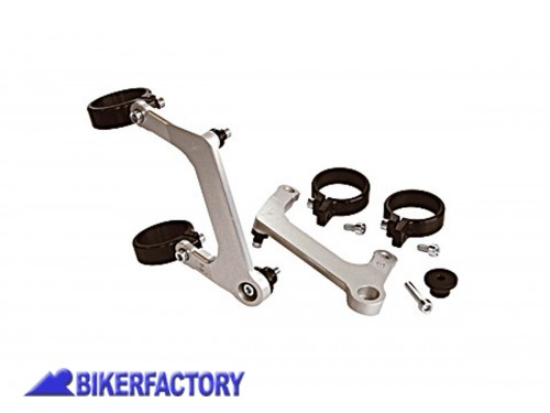BikerFactory Kit montaggio %28staffe %2B clamp%29 per fari URBAN 1031079