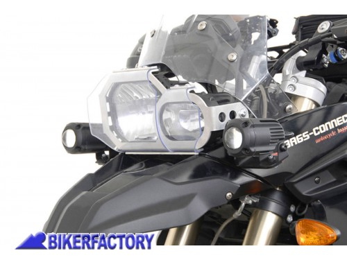 BikerFactory Staffe faretti SW Motech specifiche per BMW F 650 GS TWIN e F 800 GS %28%2708 %2712%29 NSW.07.004.10000 B 1002685