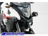 BikerFactory Staffe faretti SW Motech specifiche x HONDA CB 500 X %28%2713 in poi%29. NSW.01.004.10400 B 1024600