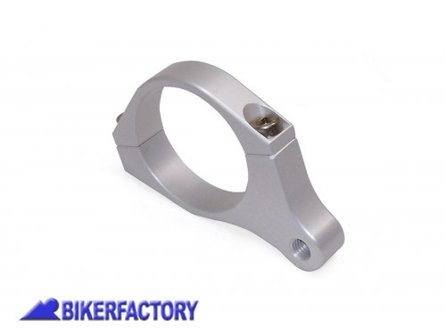 BikerFactory Supporto %28clamp%29 %281pz%29 universale per fari supplementari o frecce filettatura M8 1031062