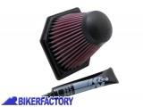 BikerFactory Filtro aria K%26N BM 1205 x BMW K1200R K1200S K1200 GT Sport K1300R K1300S K1300GT BKF.07.0069 1001603