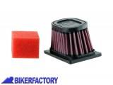 BikerFactory Filtro aria K%26N BM 6501 x BMW F 650 GS F 650 GS DAKAR G 650 GS e SERTAO BKF.07.0074 1001312