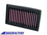 BikerFactory Filtro aria K%26N BM 8006 x BMW F650GS twin F800GS F800R F800S F800ST F700GS F800GT Husqvarna NUDA BKF.07.0070 1001710