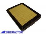 BikerFactory Filtro aria mod. rettangolare x BMW mod. BOXER 2 valvole dal 1980 in poi 9031 13721337080 1001742