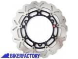 BikerFactory Disco freno anteriore BRAKING serie W FLO per APRILIA ETV Capo Nord 1000 BR.AP19FLD 1029174