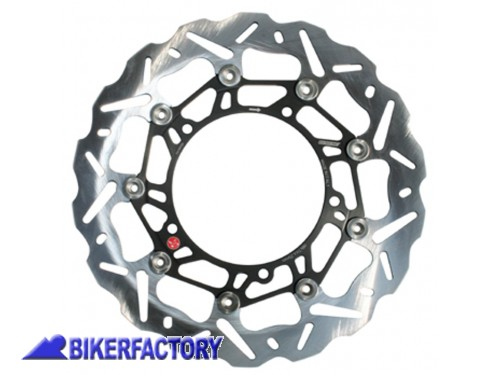 BikerFactory Disco freno anteriore destro BRAKING serie SK2 per TRIUMPH Speed Triple e Tiger 1050 BR.WK083R 1028934