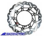 BikerFactory Disco freno anteriore sinistro BRAKING serie SK2 per DUCATI BR.WK095L 1028558