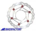 BikerFactory Disco freno anteriore sinistro BRAKING serie W FLO BR.WL101L 1028486