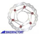 BikerFactory Disco freno anteriore sinistro BRAKING serie W FLO per TRIUMPH TIGER 800 1200 BR.WL108L 1028917
