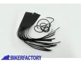 BikerFactory Coppia di copri leve in pelle con frange PW.00.550 611 1027667