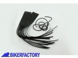 BikerFactory Coppia di copri leve in pelle con frange PW.00.550 611 1027668