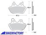 BikerFactory Pastiglie Sinterizzate in mescola CM77 BR.843CM77 1010117