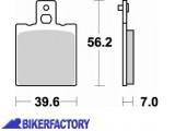 BikerFactory Pastiglie anteriori posteriori BRAKING Semimetalliche in mescola SM1 BR.612SM1 1004431