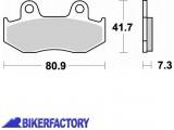 BikerFactory Pastiglie anteriori posteriori BRAKING Semimetalliche in mescola SM1 BR.667SM1 1004152