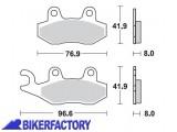BikerFactory Pastiglie anteriori posteriori BRAKING Semimetalliche in mescola SM1 BR.696SM1 1004154