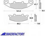 BikerFactory Pastiglie anteriori posteriori BRAKING Semimetalliche in mescola SM1 BR.698SM1 1004153