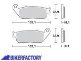 BikerFactory Pastiglie anteriori posteriori BRAKING Semimetalliche in mescola SM1 BR.716SM1 1004267