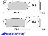 BikerFactory Pastiglie anteriori posteriori BRAKING Semimetalliche in mescola SM1 BR.720SM1 1004418
