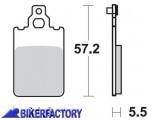 BikerFactory Pastiglie anteriori posteriori BRAKING con mescola base semi metallica SM1 BR.694SM1 1004475
