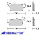 BikerFactory Pastiglie anteriori posteriori BRAKING con mescola base semi metallica SM1 BR.701SM1 1004477