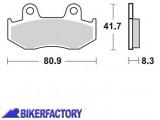 BikerFactory Pastiglie posteriori BRAKING Semimetalliche in mescola SM1 BR.887SM1 1004502