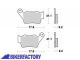 BikerFactory Pastiglie posteriori sinterizzate in mescola CM56 BR.773CM56 1010085