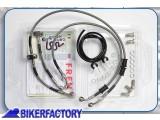 BikerFactory Kit tubi freno Frentubo tipo 1 con tubi e raccordi in acciaio per Aprilia ETV 1000 CAPO NORD RALLY %28%2701 %2703%29. 1014433
