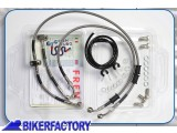 BikerFactory Kit tubi freno Frentubo tipo 1 con tubi e raccordi in acciaio x BMW R 1200 GS %28%2704 %2707%29. 1021029