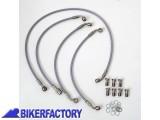 BikerFactory Tubi freno in Acciaio 1001855