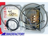 BikerFactory Tubi freno in Acciaio x BMW F 650 GS Dakar 2000 4001 1001867