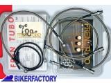 BikerFactory Tubi freno in Acciaio x BMW R 80 100 GS %2787 %2789 %28mod. paralever con faro rotondo%29 2000 161 1001827