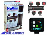 BikerFactory Manopole riscaldate Oxford Premium ADVENTURE %28Dx %C3%9825%2C6 mm Sx %C3%9822 mm%29 OXF.00.OF690 1025001