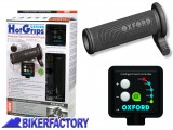 BikerFactory Manopole riscaldate Oxford Premium SPORT %28Dx %C3%9825%2C6 mm Sx %C3%9822 mm%29 OXF.00.OF692 1025003