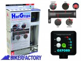 BikerFactory Manopole riscaldate Oxford Premium TOURING %28Dx %C3%9825%2C6 mm Sx %C3%9822 mm%29 OXF.00.OF691 1025002