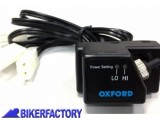 BikerFactory Manopole riscaldate per Scooter e moto mod. Oxford ESSENTIAL COMMUTER OXF.00.OF771 1026524