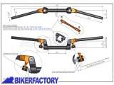 BikerFactory Manubrio antivibrazione SW Motech  %23MAN%23 LEN.00.156.10001 B 1000260