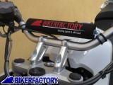 BikerFactory Paracolpi per Traversino Manubrio %28salsicciotto%29 con logo BIKERFACTORY. BKF.00.5011 1022002