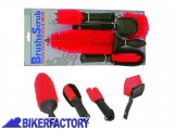 BikerFactory Kit spazzole OXFORD per pulizia moto scooter quad OXF.00.OF607 1026760