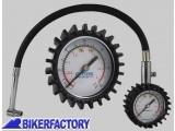 BikerFactory Manometro professionale analogio per pressione gomme moto auto. OXF.00.OF313 1027532