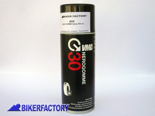 BikerFactory Nero gomme Spray 400 ml. BKF.00.5971 1019495