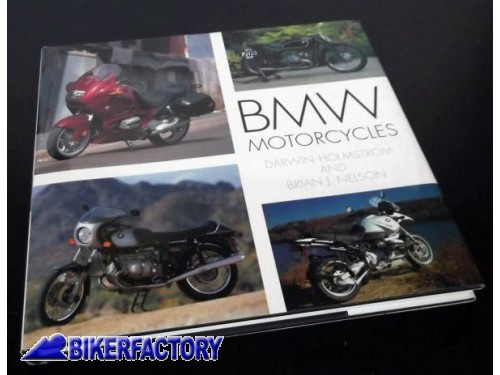 BikerFactory Libro %22BMW Motorcycles%22 Nuovo IN INGLESE 9780760310984 1043697